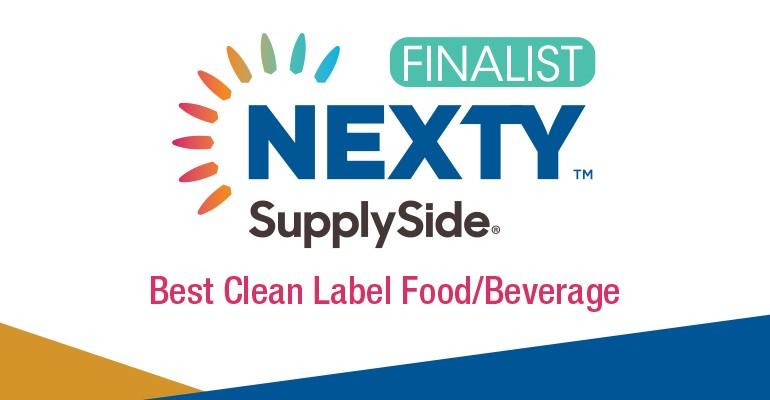 2019 NEXTY SupplySide Best Clean Label Food Beverage