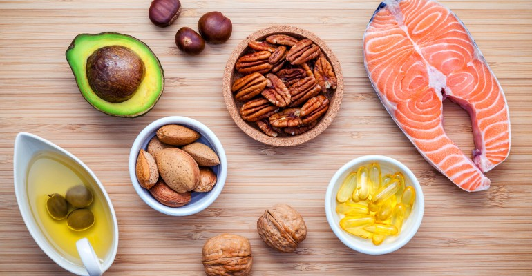 Variety of Omega 3 Foods