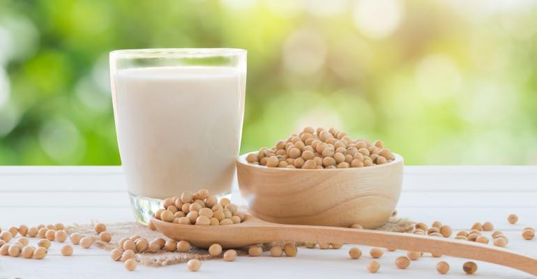 Soy Beans, Milk