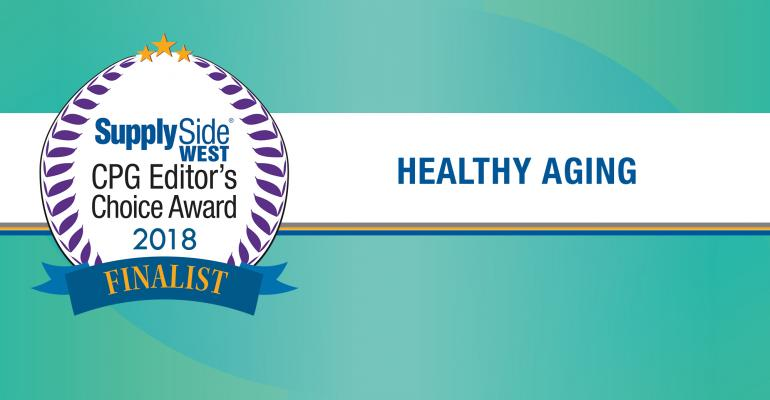 Healthy aging finalists for 2018 SupplySide CPG Editor's Choice Award – image gallery