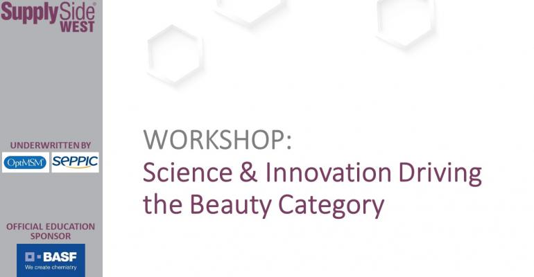Science, Innovation Driving Beauty Category