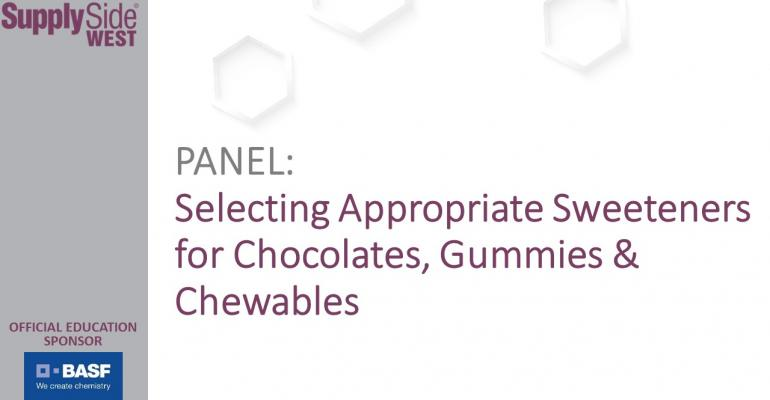 Selecting Appropriate Sweeteners