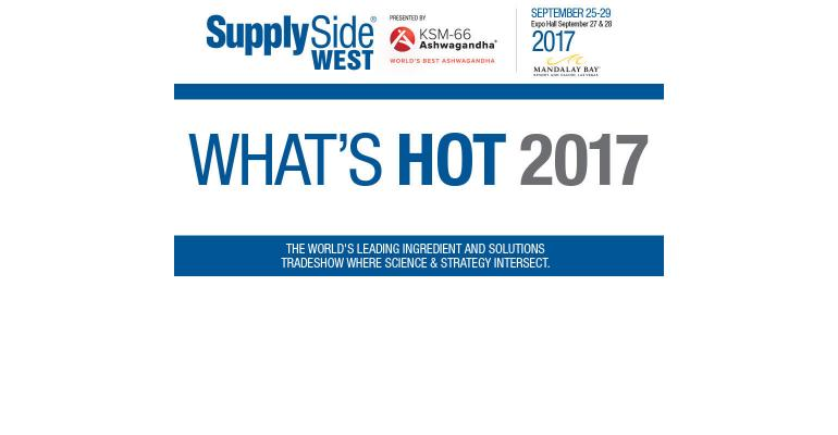 What's Hot at SupplySide West 2017 | Natural Products INSIDER