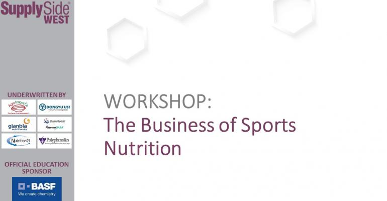 The Business of Sports Nutrition