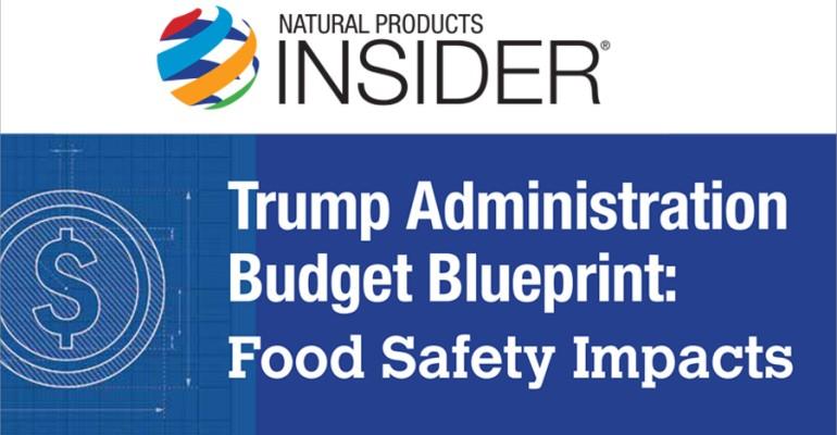 USDA, HHS, FDA Federal Budget Blueprint