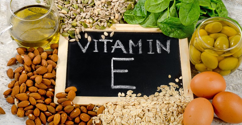 Various Sources of Vitamin E