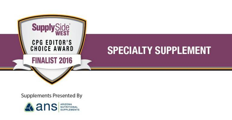 Image Gallery: Specialty Supplement Finalists for 2016 SupplySide CPG Editors Choice Award