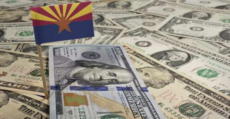 AZ flag and currency