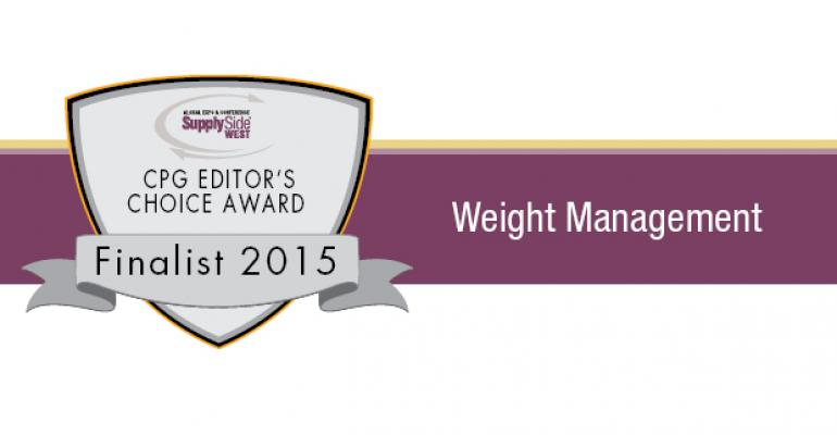 Image Gallery: Weight Management Finalists for 2015 SupplySide CPG Editors Choice Award