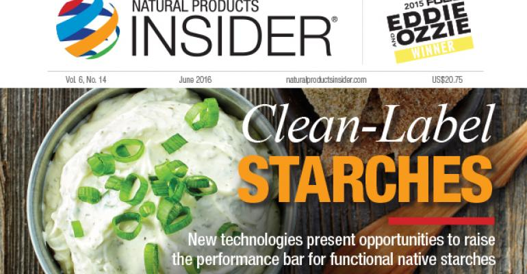 Clean-Label Starches