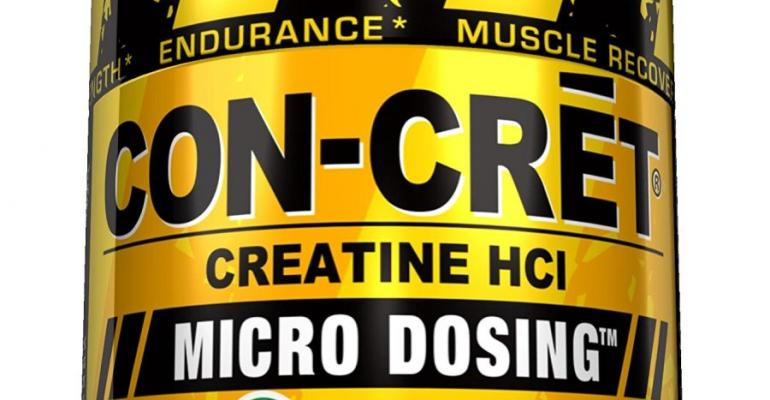 CON-CRET cratine HCl package