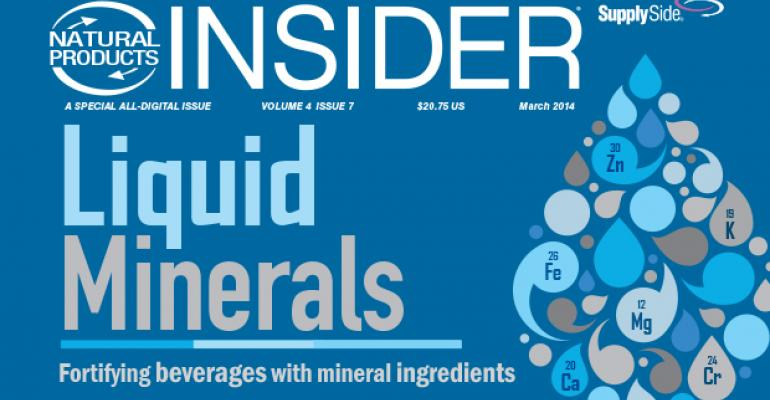 Fortifying Beverages with Mineral Ingredients