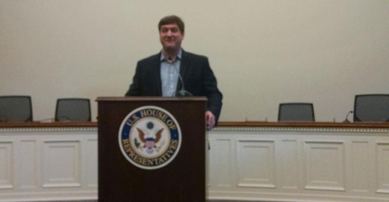 Dr. Michael Grandner at Dietary Supplement Caucus on Capitol Hill