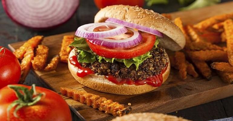 veggie burger_protein
