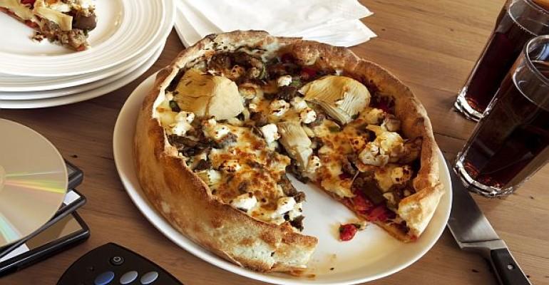 pizza and pepsi