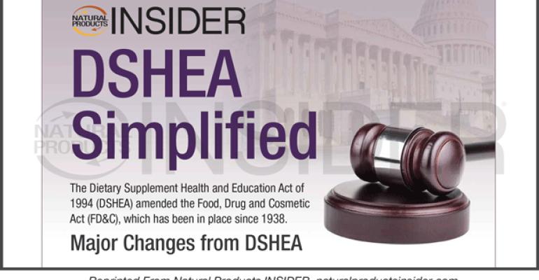 DSHEA Simplified
