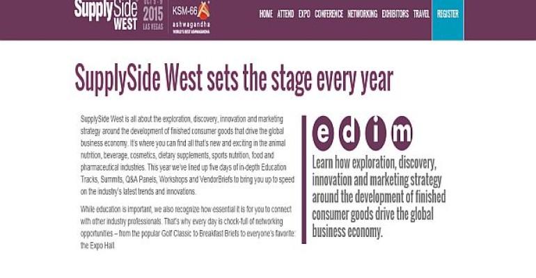 SupplySide West 2015_News