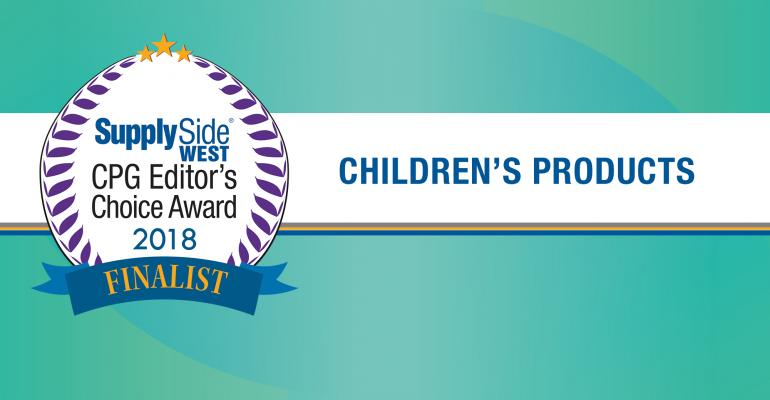 Children's health finalists for 2018 SupplySide CPG Editor's Choice Award – image gallery