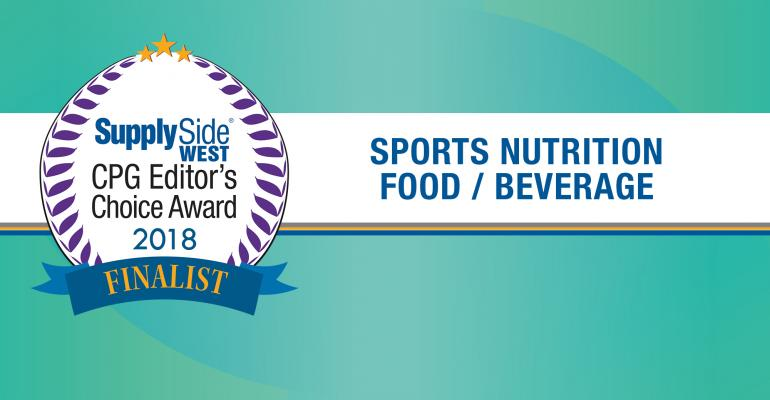 SupplySide ECA Finalists Sports Food and Beverage