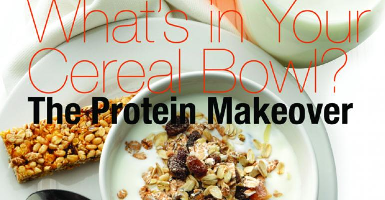What's in Your Cereal Bowl? The Protein Makeover