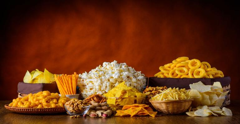 call for Salty Snack Entries