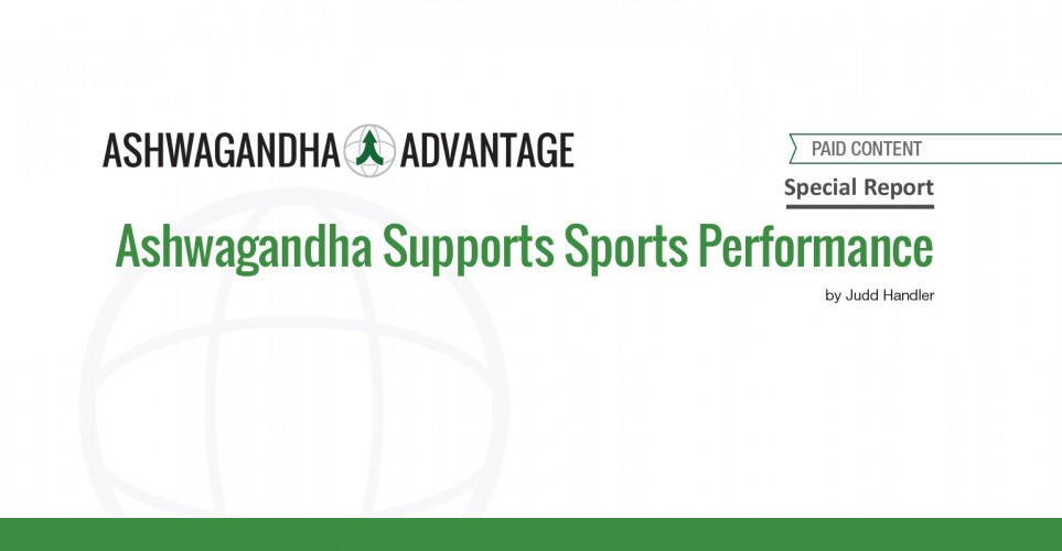 Report: Ashwagandha Supports Sports Performance