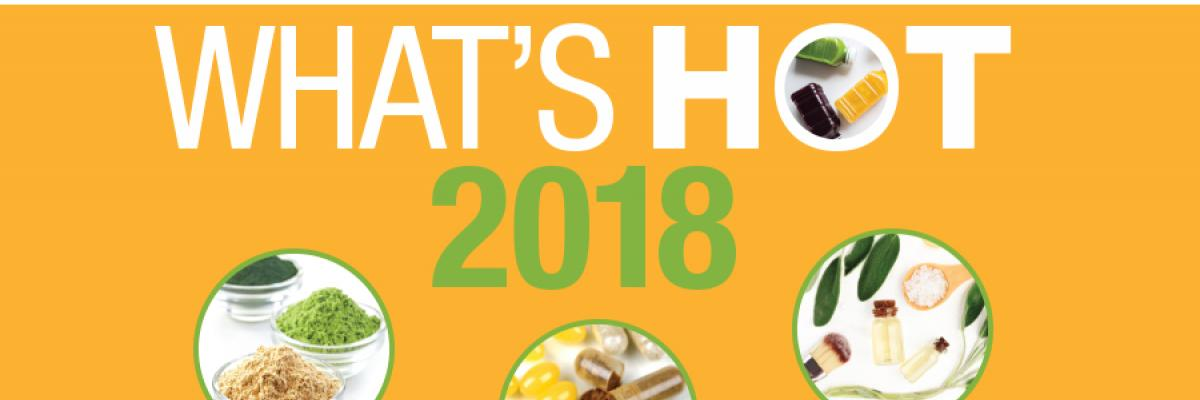 What's Hot at SupplySide East 2018