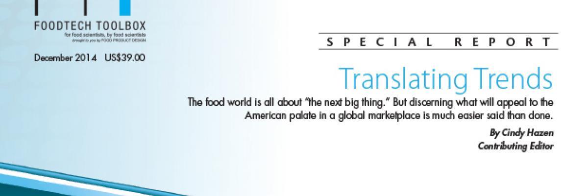 Translating Trends