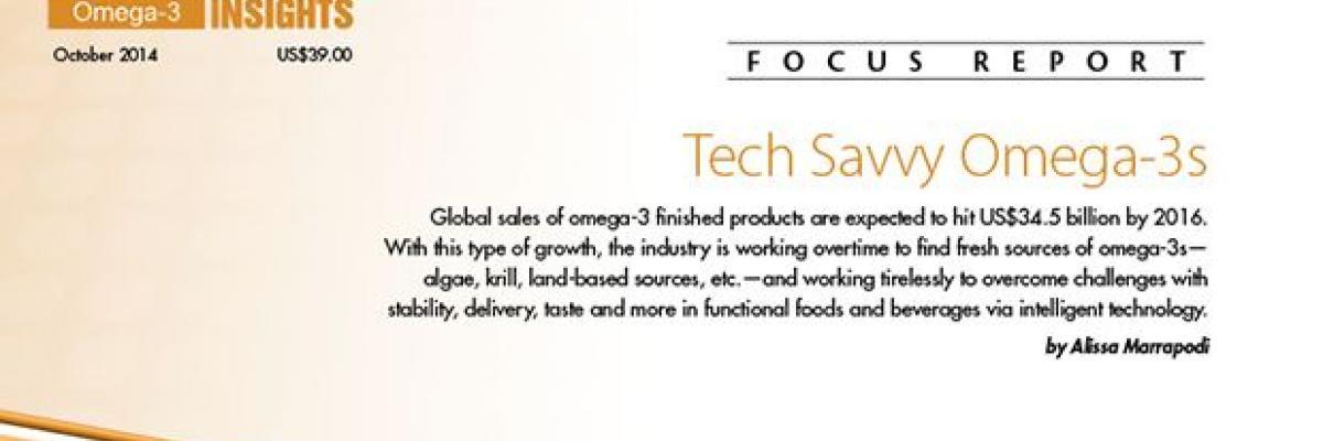 Tech Savvy Omega 3s