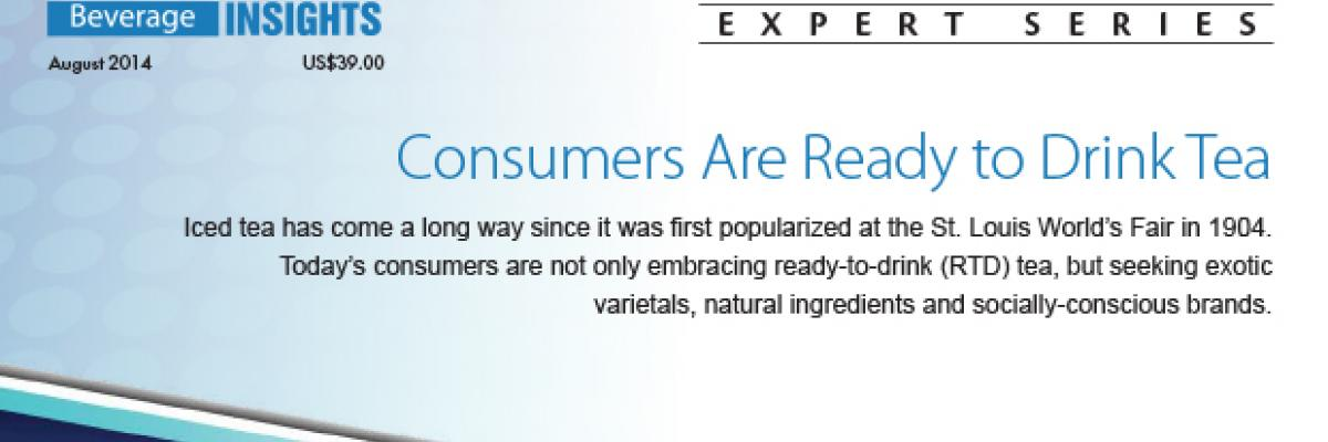 Report: Consumers Are Ready to Drink Tea