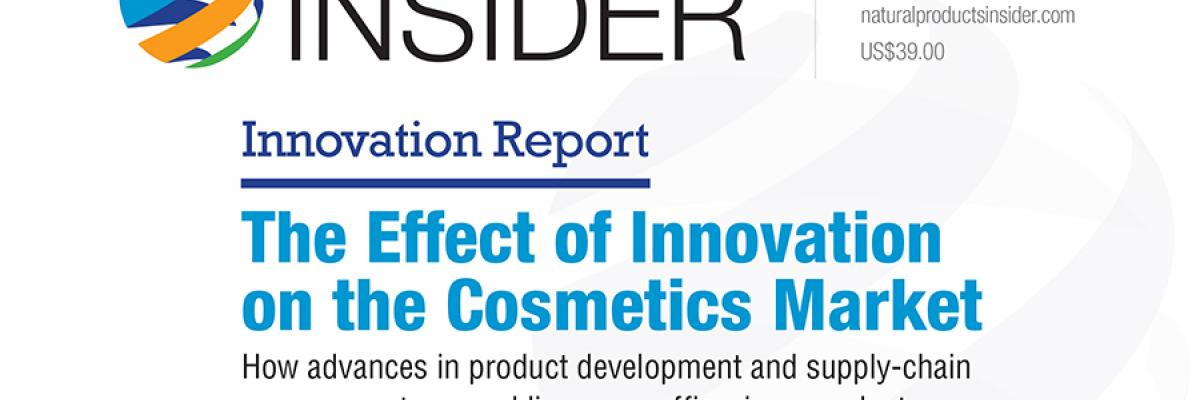 Innovation Report: The Effect of Innovation on the Cosmetics Market