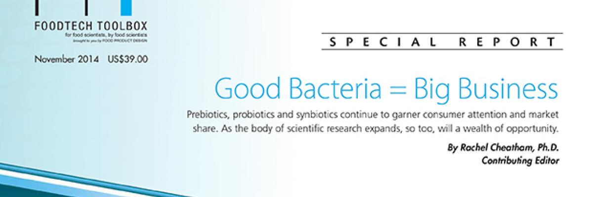 Good Bacteria = Big Business