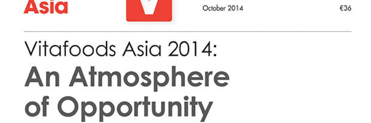 Report: Vitafoods Asia 2014