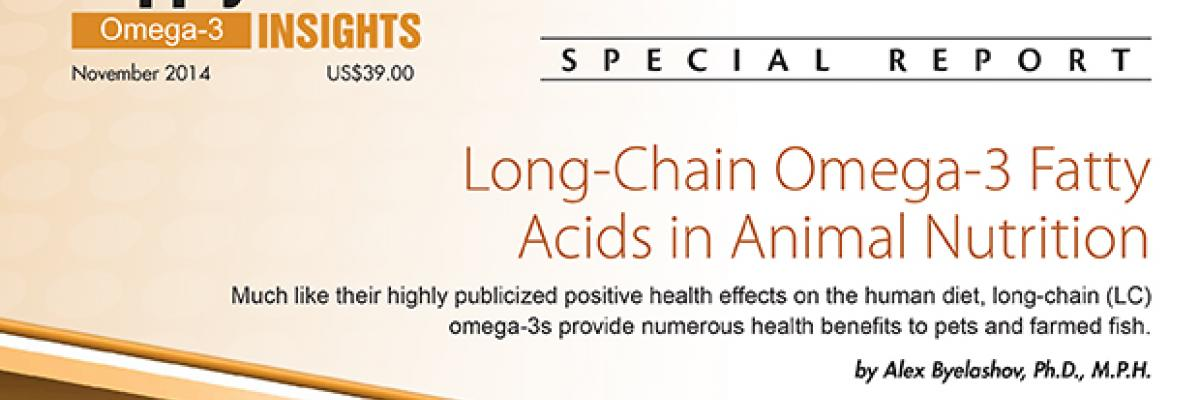 Report: Long-Chain Omega-3 Fatty Acids in Animal Nutrition