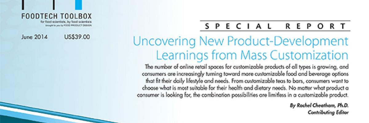 Uncovering New Product-Development Learnings from Mass Customization