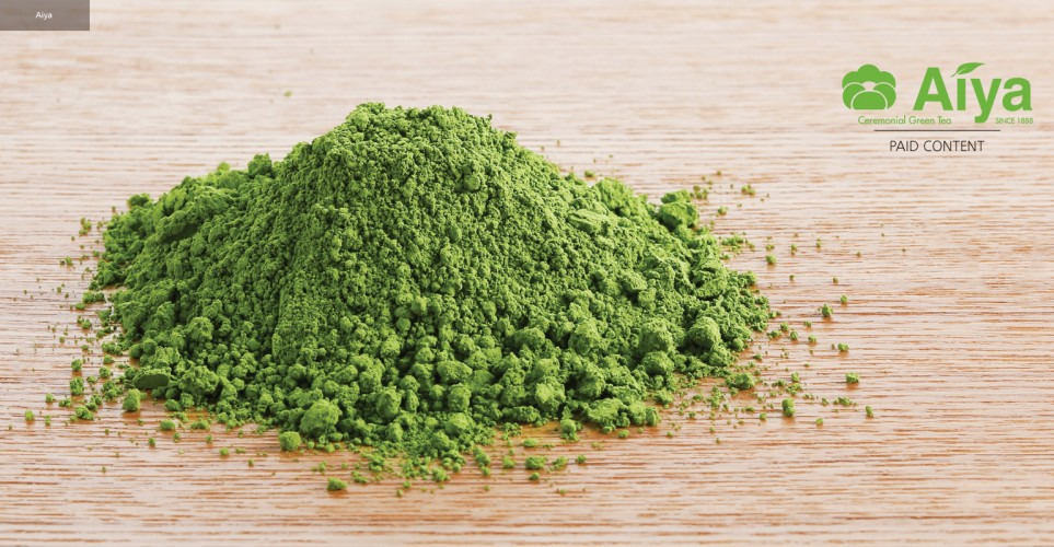 The natural whole-leaf power of matcha powder – infographic