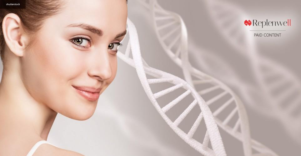 Collagen peptides for radiant skin – infographic