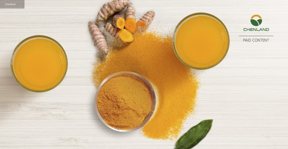 Curcumin with 5x bioavailability for a powerful punch in a small dose – infographic