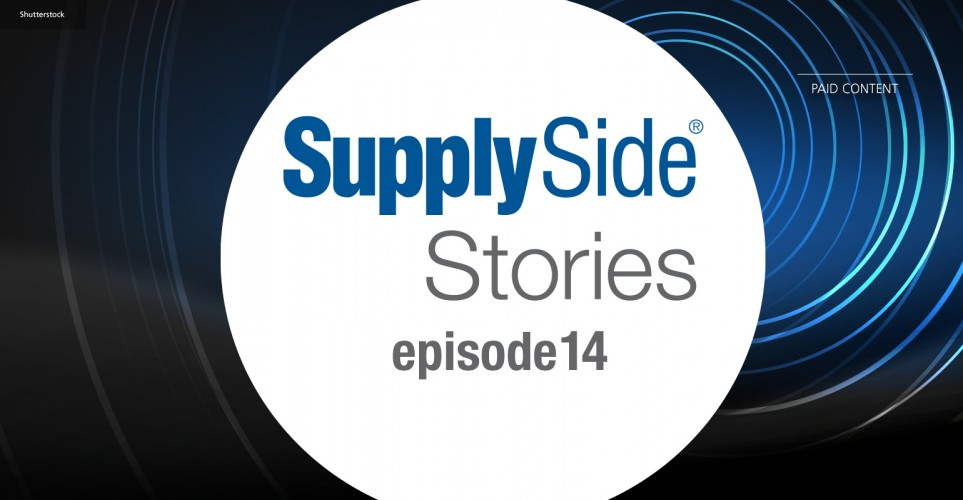 SupplySide Stories Episode 14: A sustainable business model for manufacturing ingredients of natural origin – podcast
