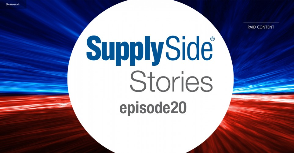 SupplySide Stories Episode 20: Sustainable plant-based protein - multiple sources for varied applications – podcast