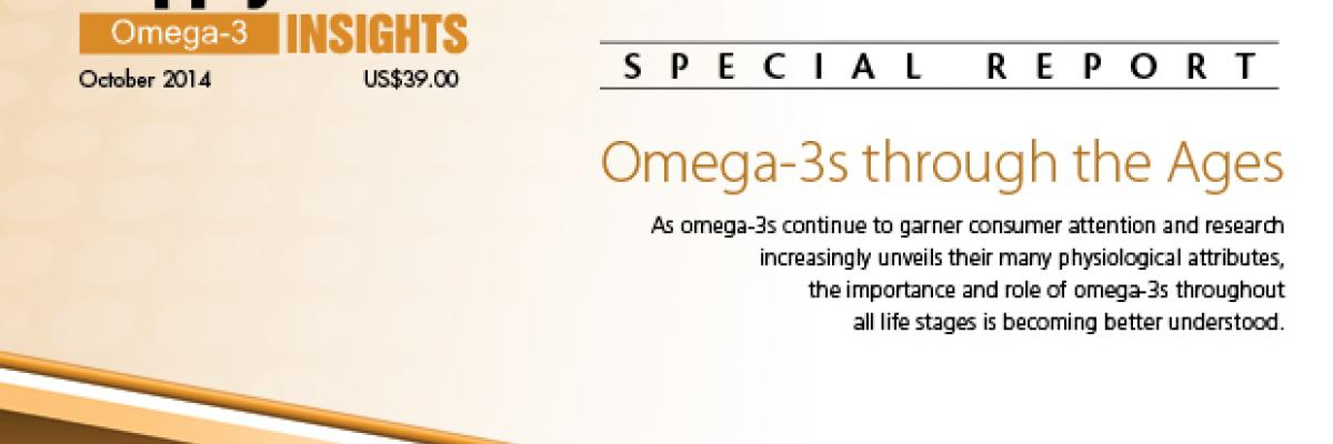 Report: Omega-3s through the Ages