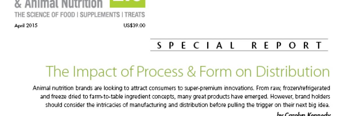 Report: The Impact of Process & Form on Distribution