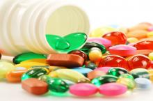 Various dietary supplements 2019