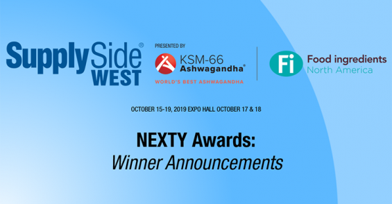 2019 NEXTY Awards at SupplySide West winners – slideshow