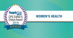 An omega-3 beauty oil, an organic cotton menstrual pad and a probiotic blend are among the top five products vying for the 2018 CPG Editor's Choice Award in women's health.